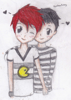 frerard by PumpkinPeasy
