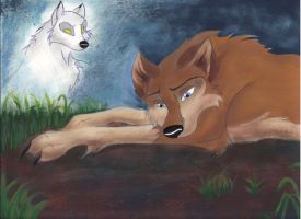 Aleu Is not alone by zimaro
