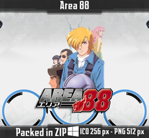 Area 88 Anime Icon by PrimaRoxas