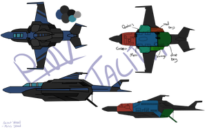 PNA: Scardi Scout Vessel Tacita- Mirus Squad by ThatAlbinoThing