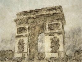 Arc de Triomphe by fmr0