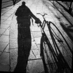 Self Portrait with Bicycle by Brandzai