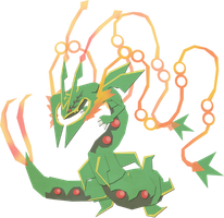 Mega Rayquaza by Paprik-a