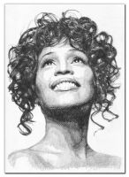 WHITNEY HOUSTON by Pawelta2