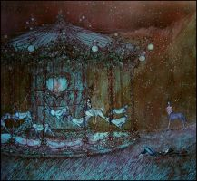 a dream of a carousel by barbarasobczynska