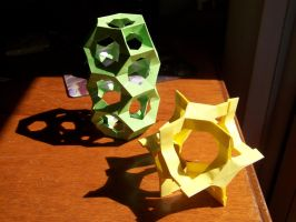 Modular origami by Ludofimo