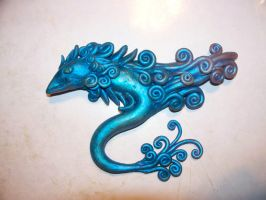 Pretty Dragon - with finish by Kivusa