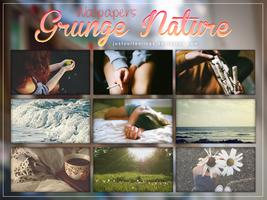 Wallpapers Grunge Nature by JustOurFeelings