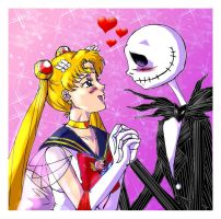 Sailor Moon x Jack Skellington by Lily-pily