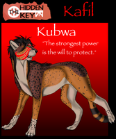 The Keepers' Cards .:Kafil:. by Wolfchick36