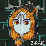 Commission: Chibi Midna Icon by Z-Raid