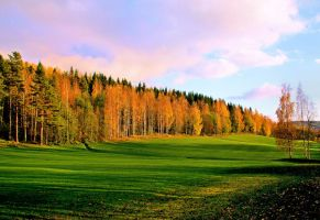 autumn view by KariLiimatainen