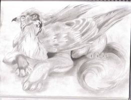:Gryphon: by Nightfeather
