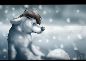 :Alone: by Luffywolf