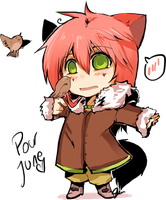 Chibi Renard by EphemeralComic