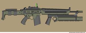 Custom AR Mastiff by Robbe25