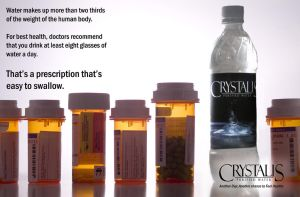 Crystalis Water Ad - Unisex by robertllynch