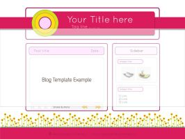 Draft for Blog - Pink Template by LaAlex