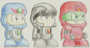 Tear Tech and Tank: Colored Pencils by Cyberguy64