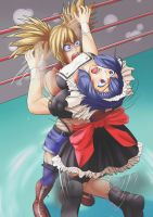 Wrestle Angels 14 by B--I--S