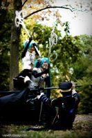 Vocaloid Cosplay Battle by viewtifu1