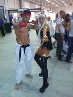 Ryu and Storm by SueMorenaRoma