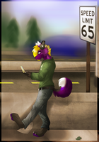 On The Road Again by Oreo-Septim