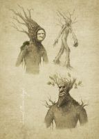 Dryad Concepts by Brainfruit