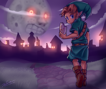 Majora's Mask by Parimak