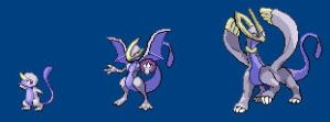 Custom pokemon Evolution by BrokenArcAngel