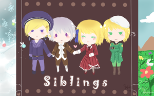 APH - Siblings by DinoTurtle