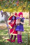 Lulu and Annie from League of Legends by MaiseDesigns