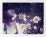 Me and the Daisies by CaterpillarOfAngst