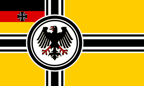Alternate Seekriegsflagge for the BRD: Version 2 by Linumhortulanus