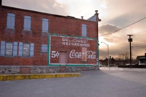 Meekers Coke Sign by BillH-Photo