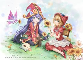 Annie or Lulu, Which sup did you choose?  Blue ver by lancer0519