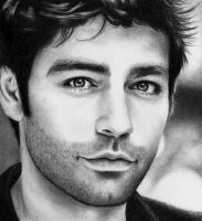Adrian Grenier as Vince Chase by Rick-Kills-Pencils