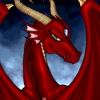 .-:Red Dragon:-. by DrazX