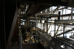 in the glassbox, old AMCOR papermill by thespook