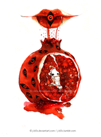 Possessed Pomegranate by j-b0x