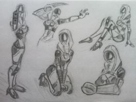 sketches Tali (29) by spaceMAXmarine