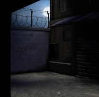 alley background by indigodeep