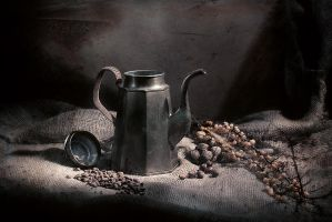 Old coffee pot by Rok-n-roll