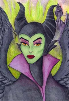 Maleficent by tanyadavisart