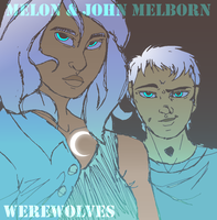 Melon And John Melborn_ Under The Moon by Welcoming-Meg