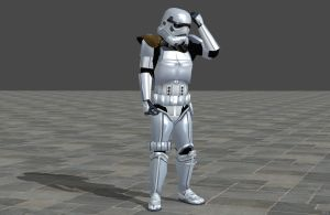 'Star Wars' Empire Stormtrooper XPS ONLY!!! by lezisell