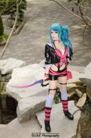 Izumi Sakuraba - 7th Dragon 2020 by DISC-Photography