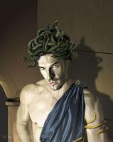 Gorgon man by Gizmorian