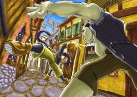 alley by dchan316