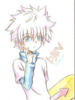 Killua (Traditional) by xxDaisuki-Koixx